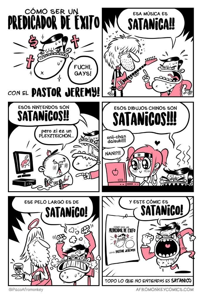 como triunfar como pastor lo que no entiendes dices que es satanico