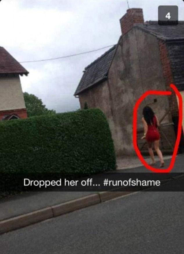 Asphalt - Dropped her off... #runofshame 4