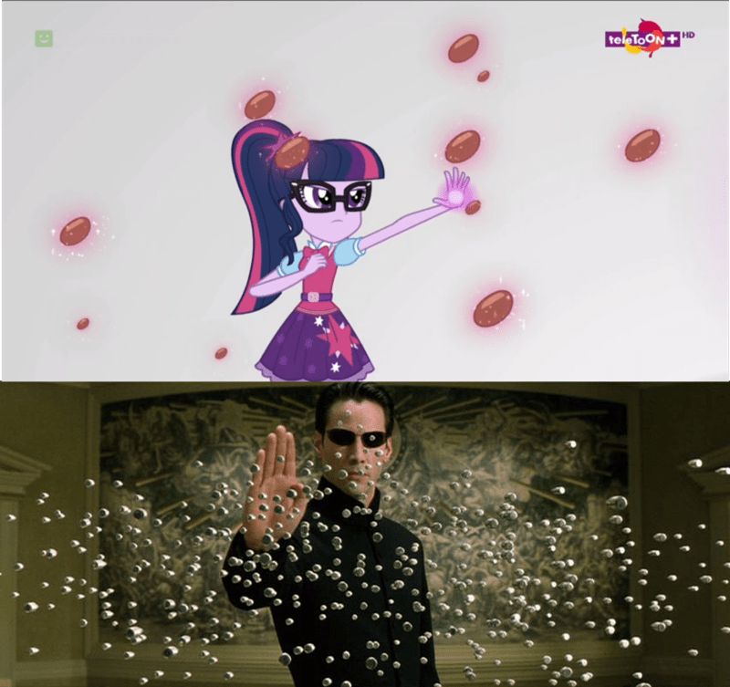 the matrix twilight sparkle screencap mirror magic reference - 9052183552
