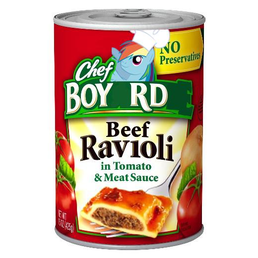 chef boyardee ponify rule 63 rainbow dash - 9052593920