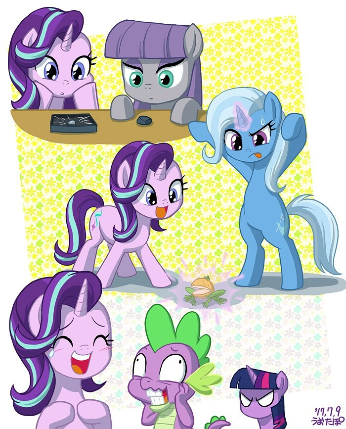 spike the great and powerful trixie starlight glimmer twilight sparkle uotapo maud pie - 9052672256