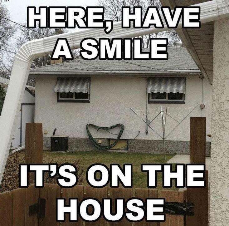 Font - HERE, HAVE A SMILE IT'S ON THE HOUSE
