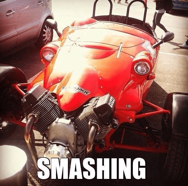 Motor vehicle - ACK SMASHING Z019