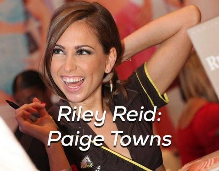 Beauty - 1804 Riley Reid: Paige Towns