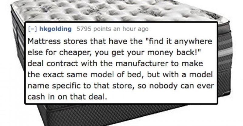 """Text - [-1 hkgolding 5795 points an hour ago Mattress stores that have the """"find it anywhere 