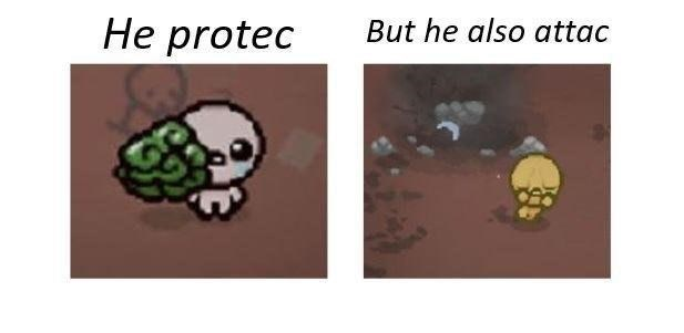 protec/attac dank meme
