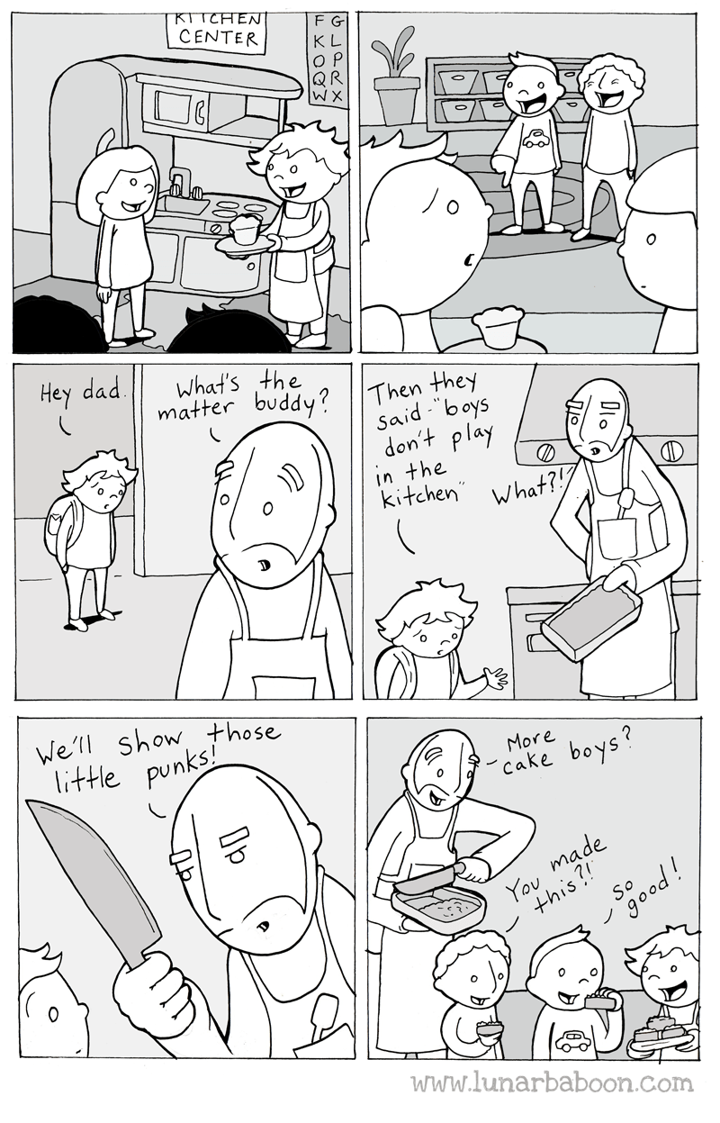 """White - ΚΤΤΗEN CENTER F G K L OP QR W X a Hey dad What'sthe matter buddy? 