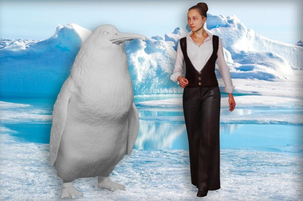 giant human sized penguin fossilized bones found in New Zealand
