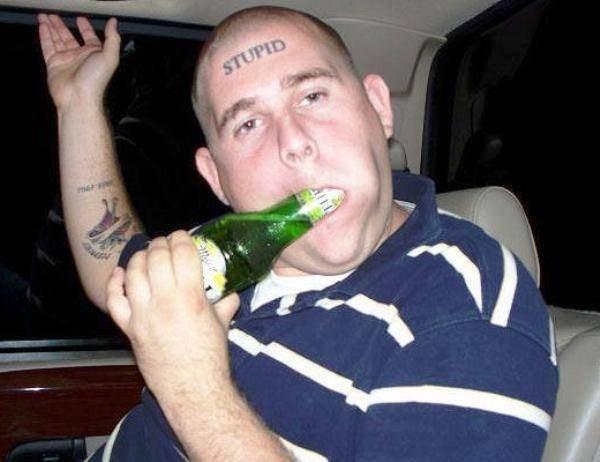 Alcohol - STUPID