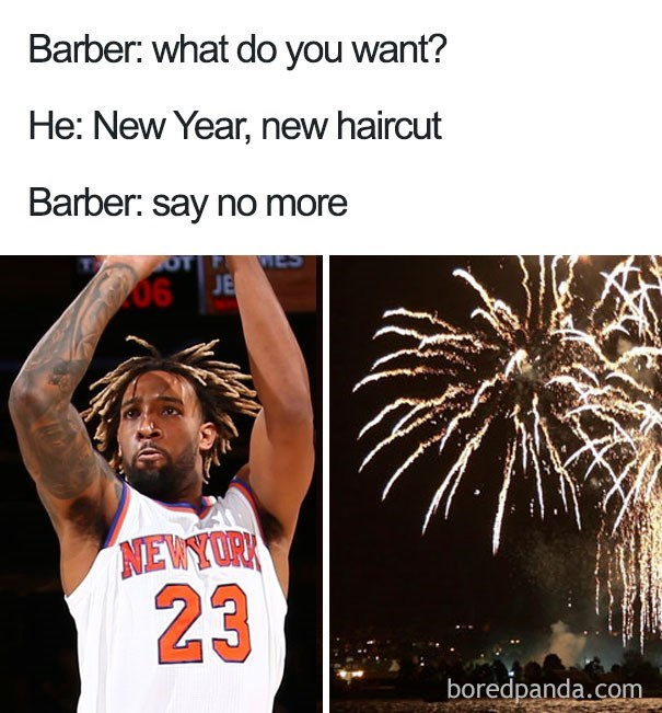 Fireworks looking hairstyle