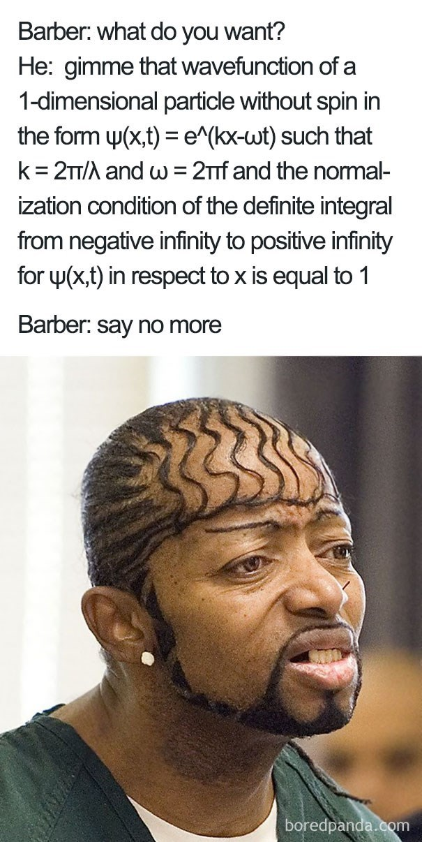 wave function haircut