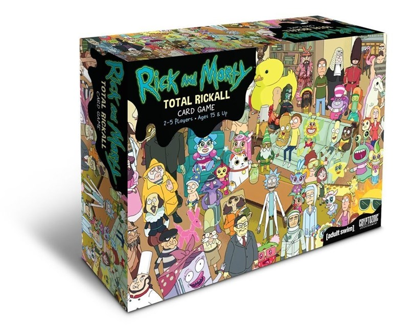 Toy - TOTAL RICKALL CARD GAME 2-5 Players Ages 15 & Up adult swimPTON Riata Mene TOTAL RICKÀLL