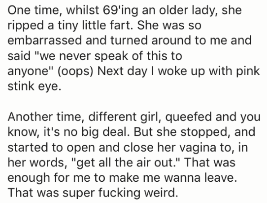 girl queefs and the awkwardness that can arise