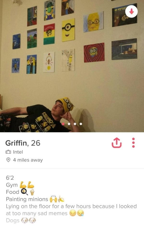 Dude on tinder that has an interesting life