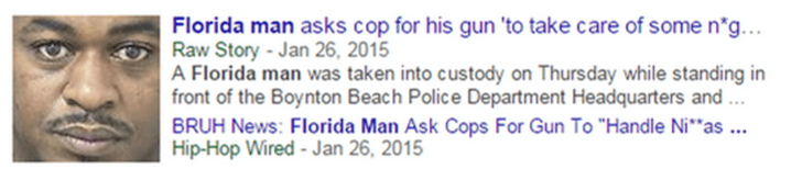 Florida man asks cop for his gun so he can take care of something