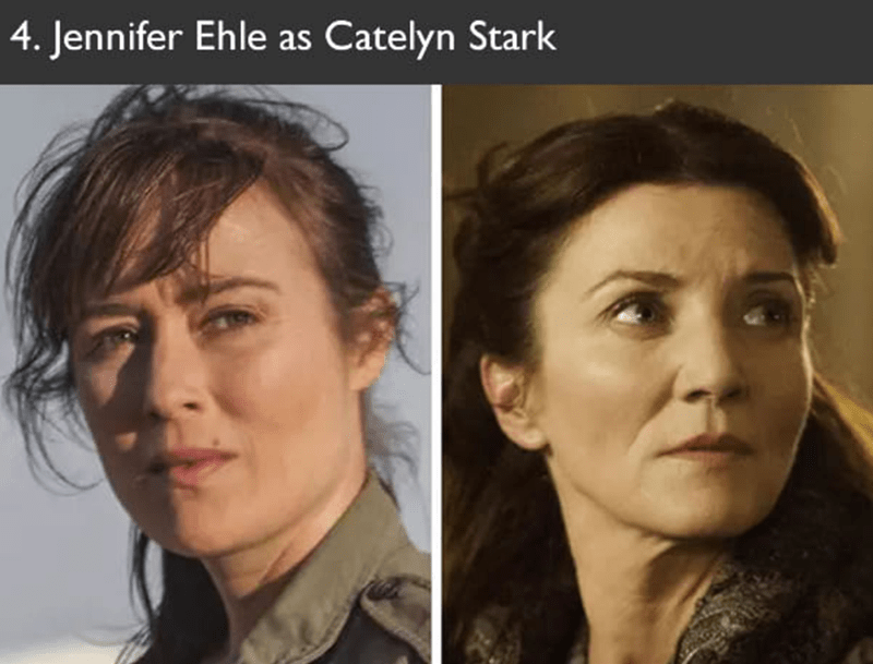 Jennifer Ehle auditioned to play Catelyn Stark in Game of Thrones