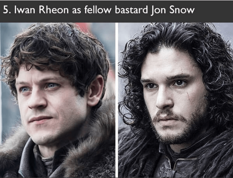 Iwan Rheon also auditioned to play Jon Snow