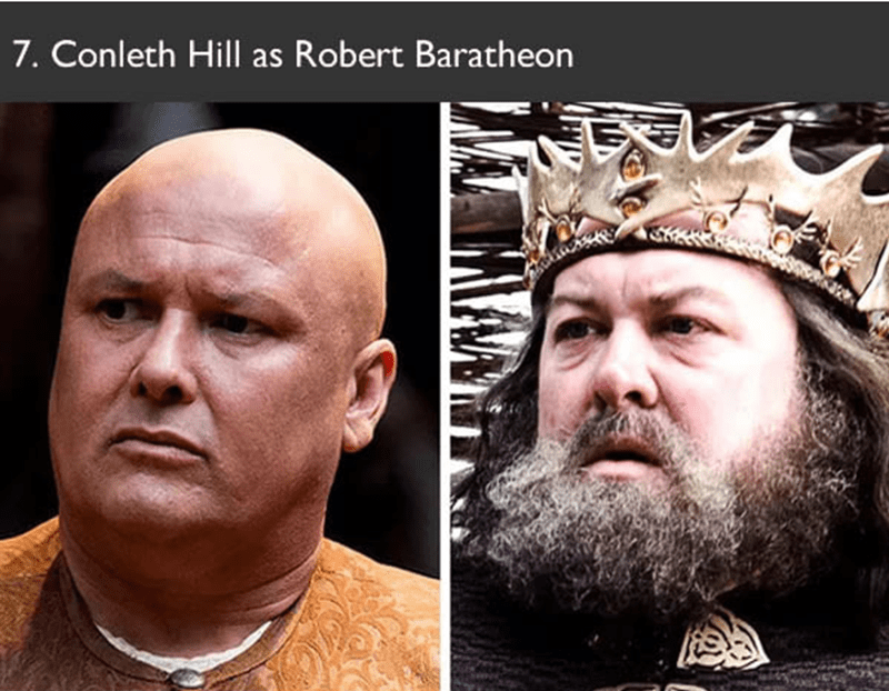 Conleth Hill auditioned to play Robert Baratheon