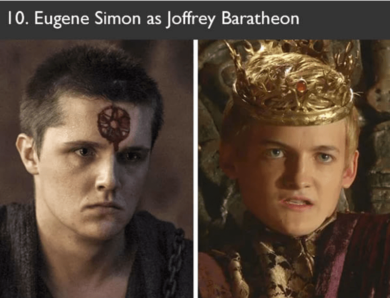 Eugene Simon auditioned to play the role of Joffrey Baratheon in Game Of Thrones