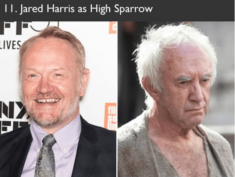 Jared Harris auditioned to play the role of High Sparrow