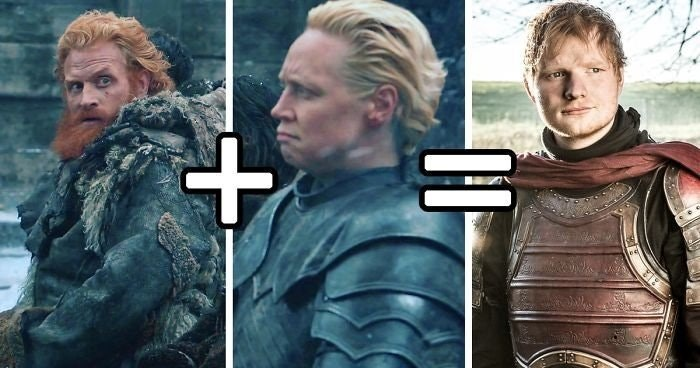 Ed Sheeran's DNA finally explained through Game of Thrones actors.