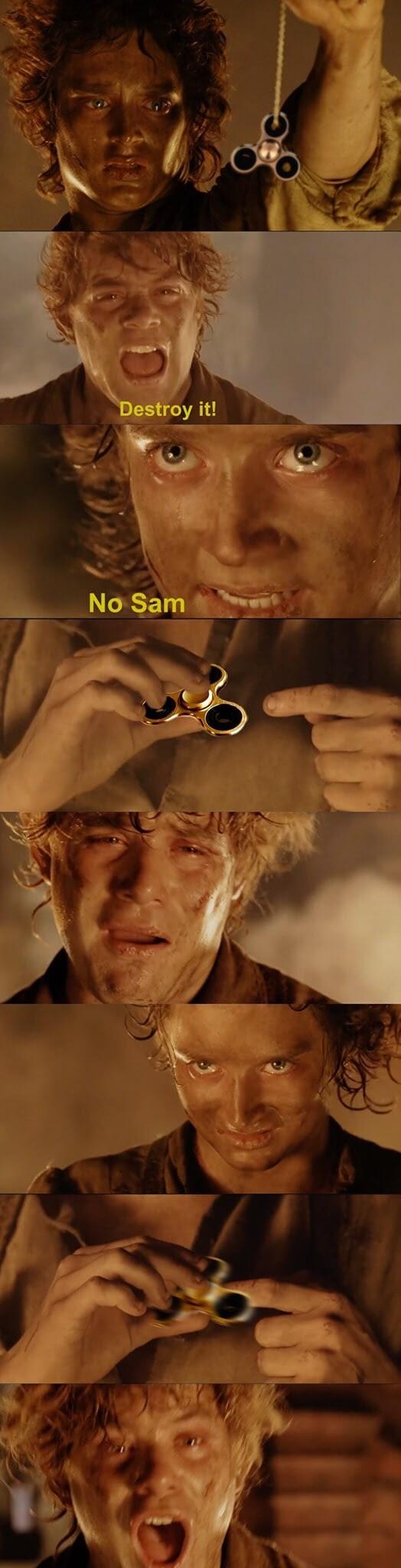 Human - Destroy it! No Sam