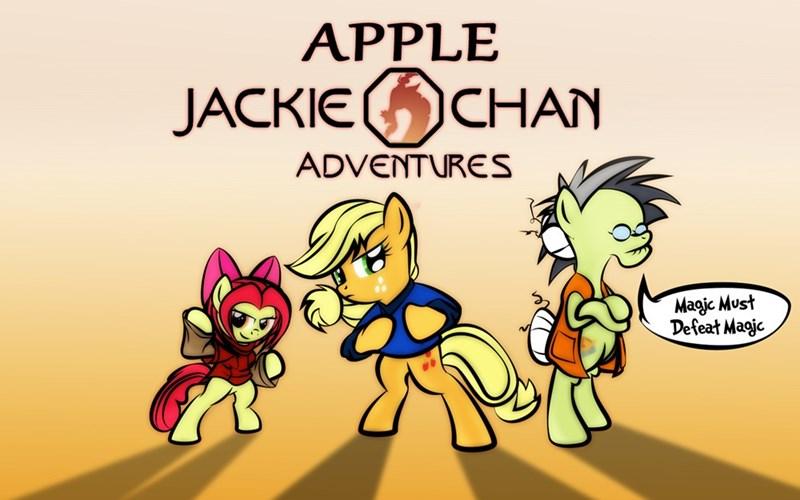 applejack discord apple bloom ponify granny smith Jackie Chan dan232323 jackie chan adventures - 9056641024