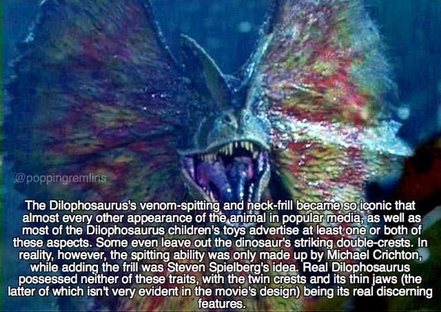 Fun facts about the Dilophosaurus
