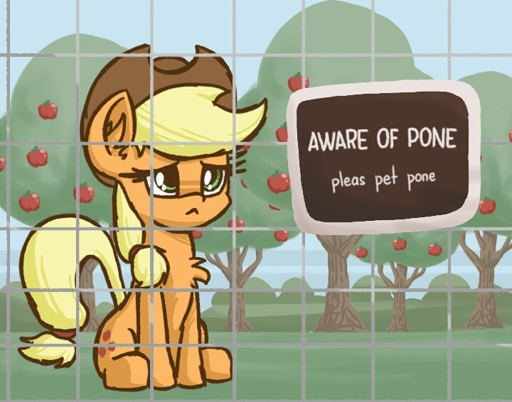 applejack Memes ponify plunger acting like animals - 9057053184