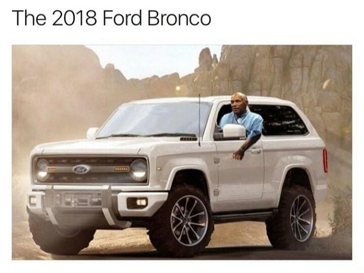 Motor vehicle - The 2018 Ford Bronco