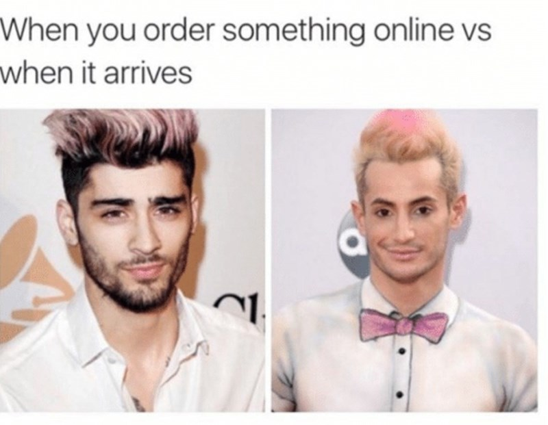 Hair - When you order something online vs when it arrives 21