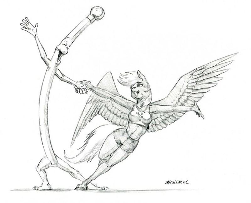 derpy hooves puns anthropomorphic baron-engel - 9057561088