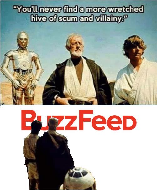 Star Wars dank meme taking brutal stab at Buzzfeed