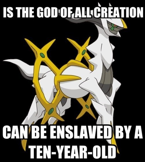 Cartoon - IS THE GOD OFALLCREATION CAN BE ENSLAVED BY A TEN-YEAR-OLD