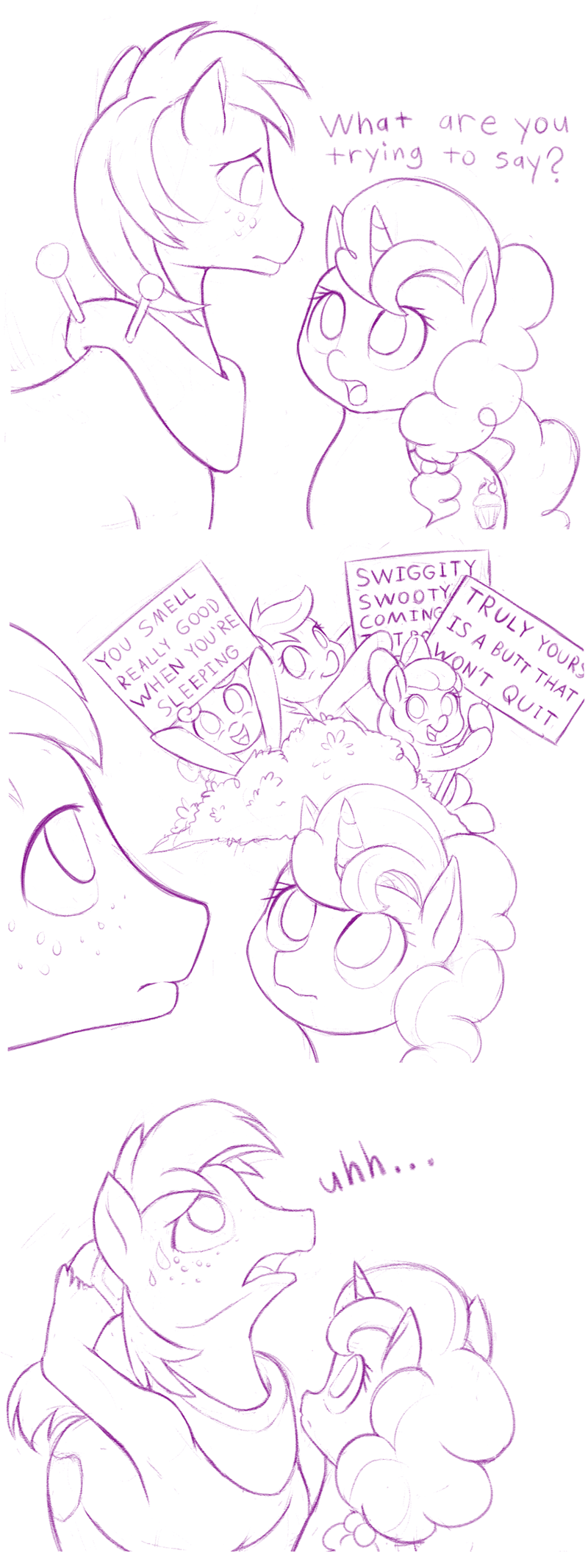 dstears sugar belle Sweetie Belle apple bloom hard to say anything Big Macintosh Scootaloo - 9058387456