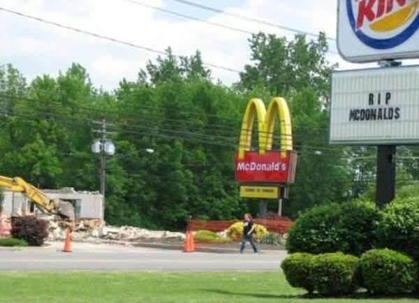 McDonald's burger king funny fast food - 9058754304