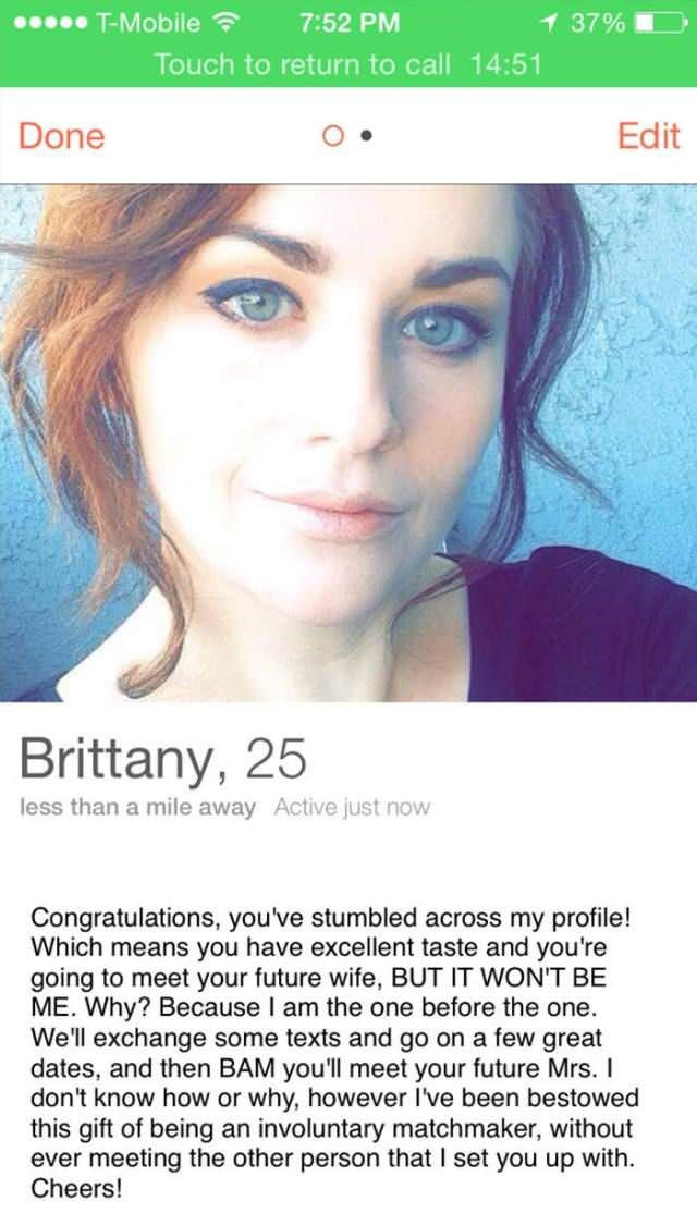 funniest female dating profiles