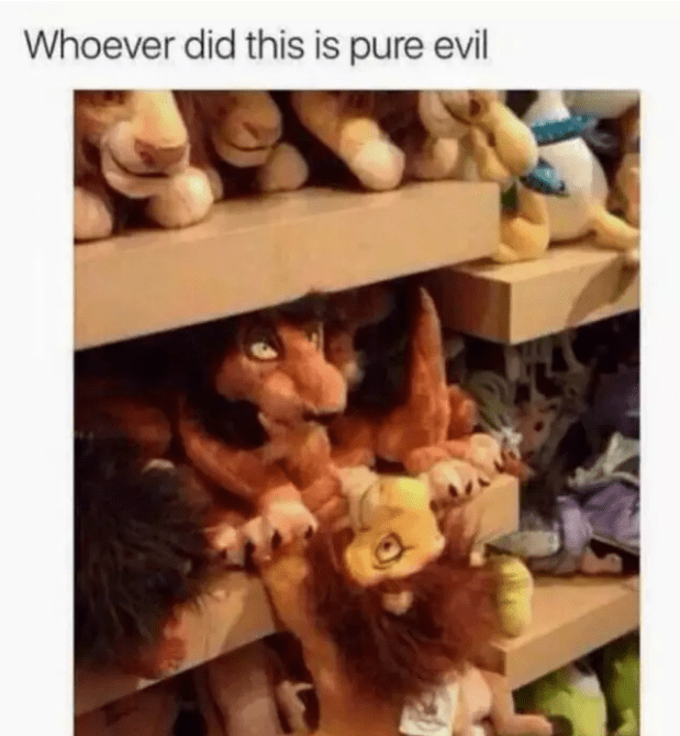 Wood - Whoever did this is pure evil