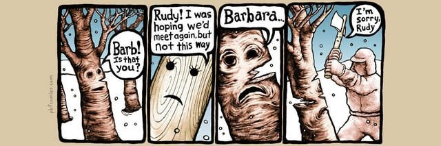 webcomic - Cartoon - Barbara. Rudy! I was hoping we'd meet again,but Barb!not this way I'm sorry Rudy Is that you? phfeemies.com