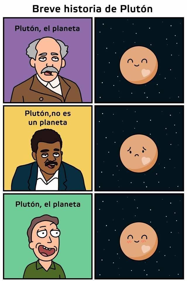 pluton es no es y es un planeta