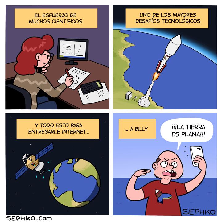 descubrimientos cientificos la tierra es plana