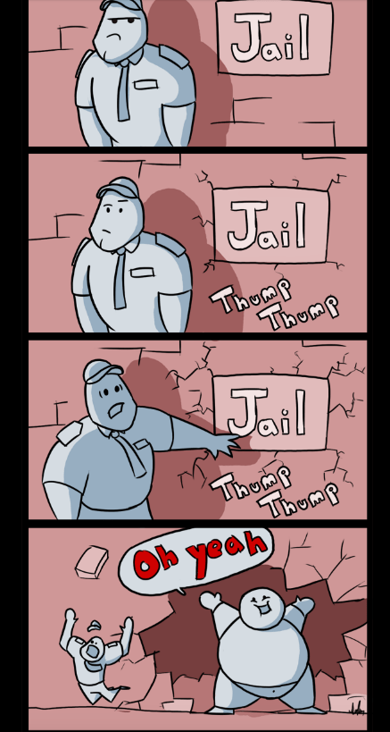 Florida man too fat for jail