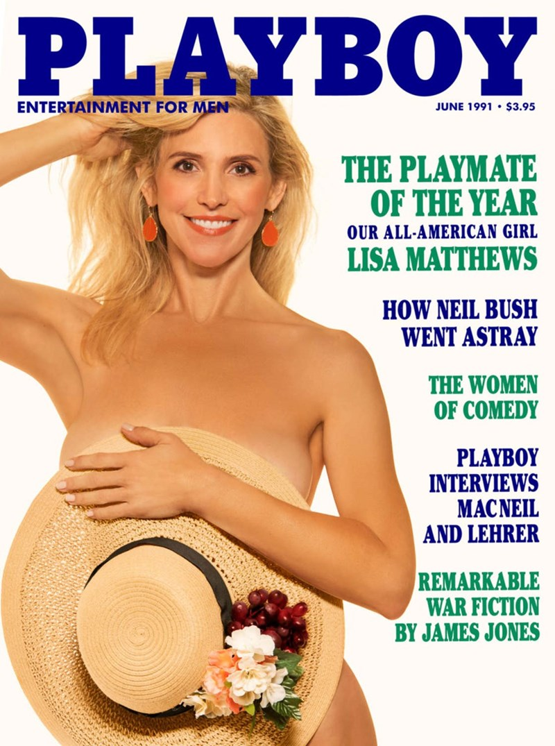 Magazine - PLAYBOY ENTERTAINMENT FOR MEN JUNE 1991 $3.95 THE PLAYMATE OF THE YEAR OUR ALL-AMERICAN GIRL LISA MATTHEWS HOW NEIL BUSH WENT ASTRAY THE WOMEN OF COMEDY PLAYBOY INTERVIEWS MACNEIL AND LEHRER REMARKABLE WAR FICTION BY JAMES JONES