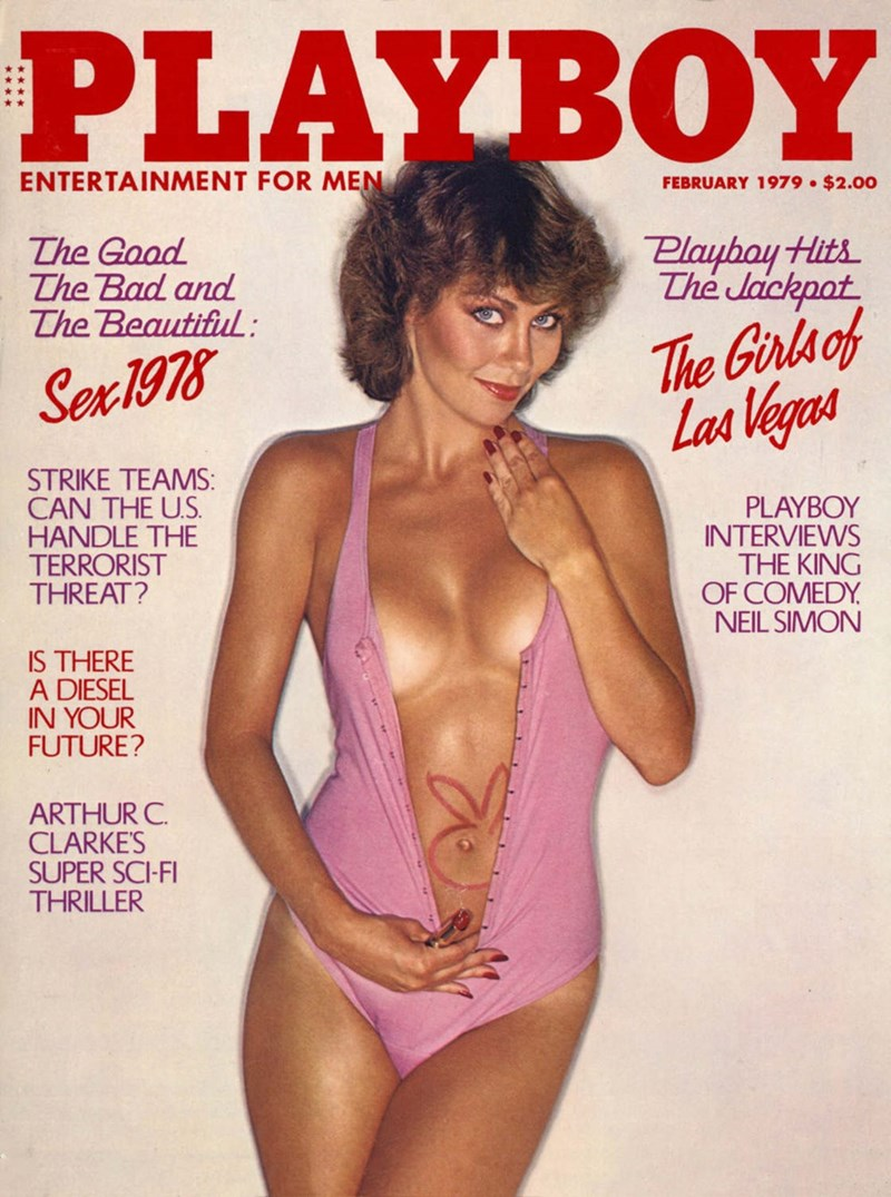 Magazine - PLAYBOY ENTERTAINMENT FOR MEN FEBRUARY 1979 $2.00 Playboy Hits The Jackpat The Gaad The Bad and The Beautiful : The Girlsof Las Vegas Sex1978 STRIKE TEAMS: CAN THE US HANDLE THE TERRORIST THREAT? PLAYBOY INTERVIEWS THE KING OF COMEDY NEIL SIMON IS THERE A DIESEL IN YOUR FUTURE? ARTHUR C. CLARKE'S SUPER SCI-FI THRILLER