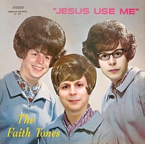 "Album cover - STEREO JESUS USE ME"" ANGALUS RECOR Faith Tones"