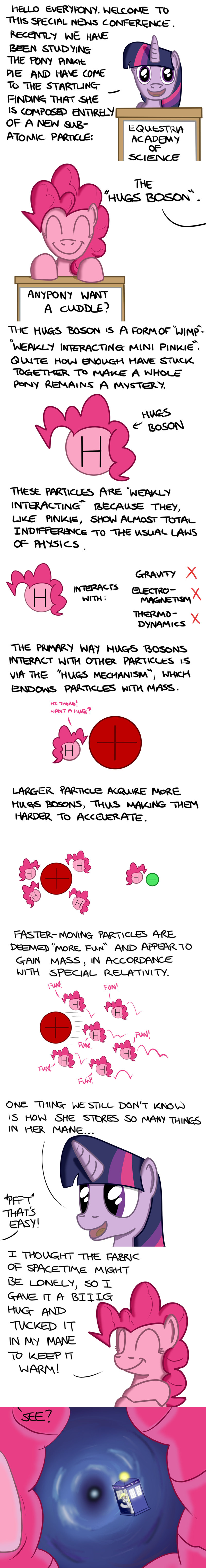 higgs boson derpy hooves twilight sparkle pinkie pie doctor who comic science hoofclid - 9060380416