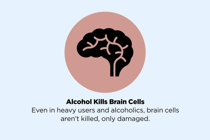 Logo - Alcohol Kills Brain Cells Even in heavy users and alcoholics, brain cells aren't killed, only damaged.