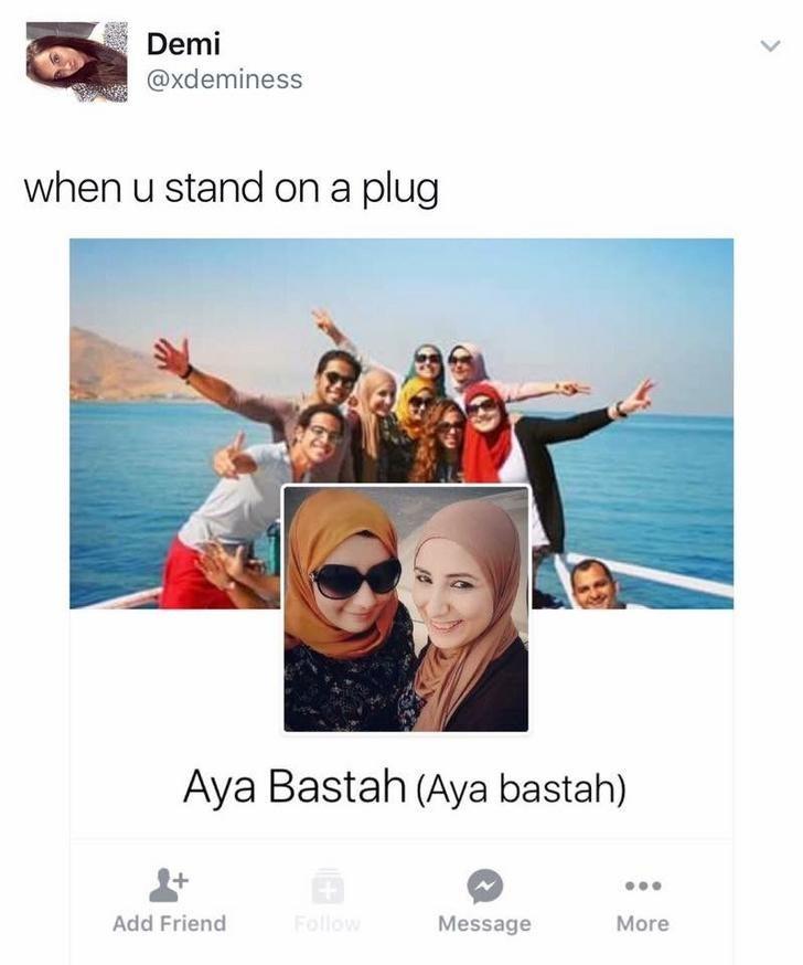funny scottish posts on twitter when u stand on a plug Aya Bastah (Aya bastah) Add Friend Follow Message More