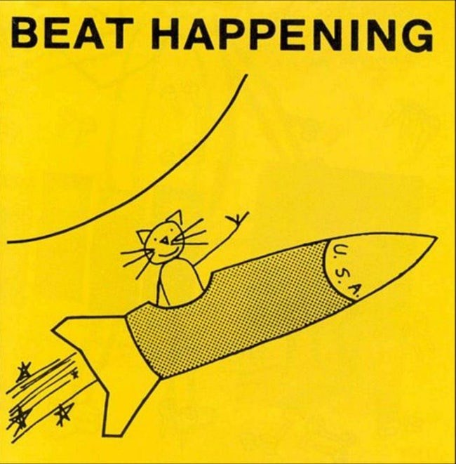 album cover - Yellow - BEAT HAPPENING A. U. 5