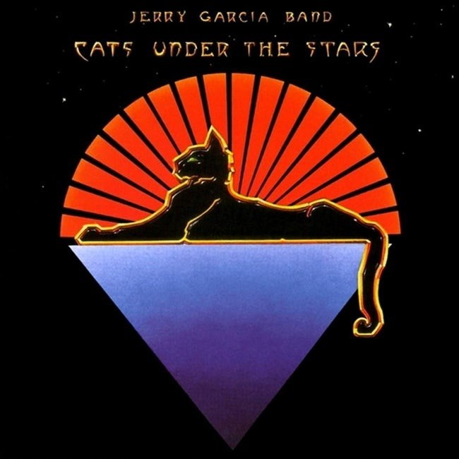 album cover - Graphic design - JERRY GARCIA BAND CAT5 UNDER THE FTAR